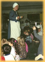 Constance at Navesink Elementary School, 1996